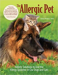 The Allergic Pet by Deva Khalsa book cover