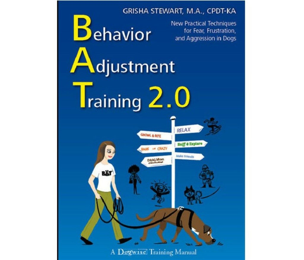 book cover for Behavior Adjustment Training by Grisha Stewart
