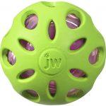 JW Pet Crinkle Ball Puppy Christmas Present