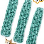 Natural Cotton Braided Rope Puppy Christmas presents