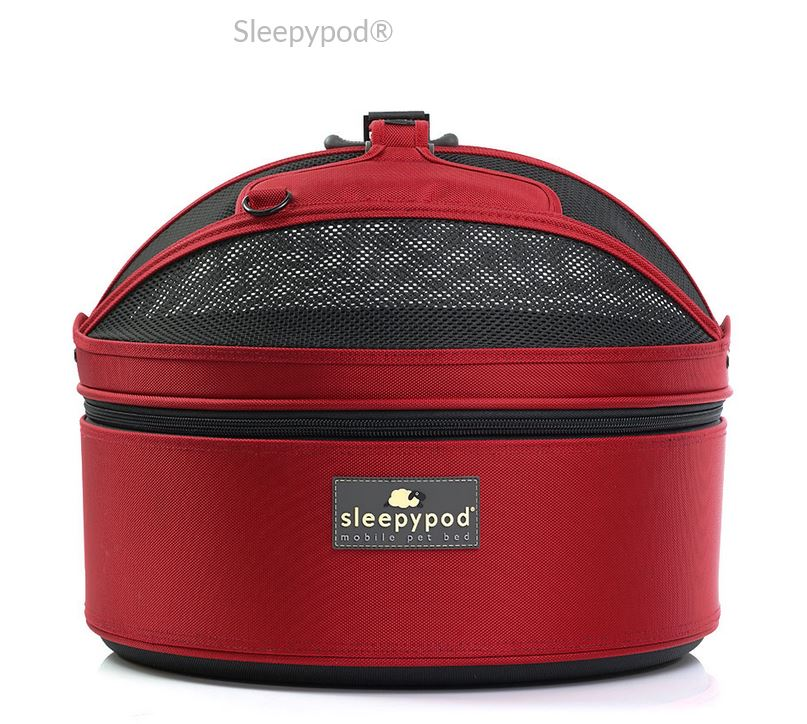 sleepypod carrier for traveling with dogs