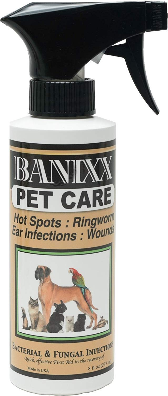 Banixx Pet Care for dog hot spots