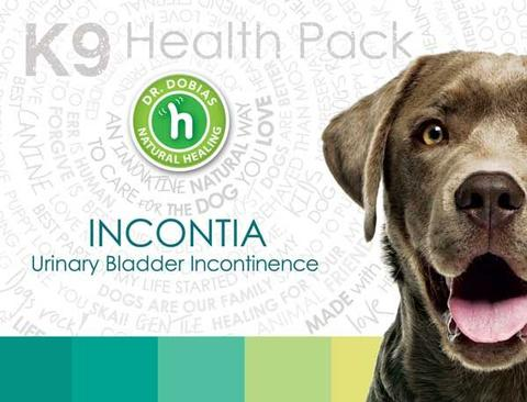 Incontia natural remedy for dog incontinence