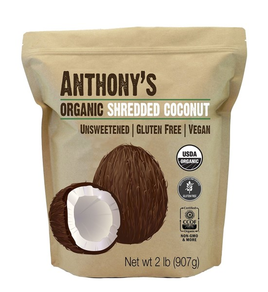 Anthonys Organic Shredded Coconut home remedy for worms in dogs