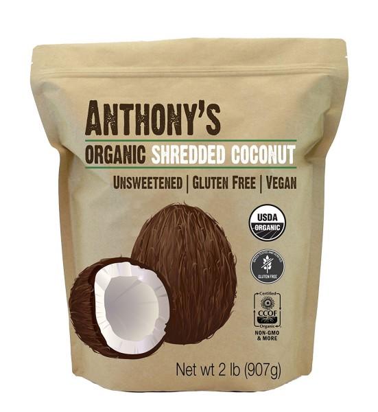 Anthonys Organic Shredded Coconut