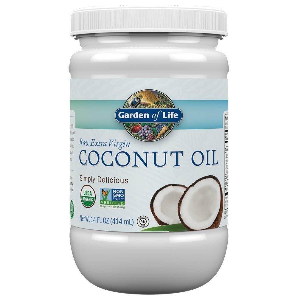 Garden of Life Organic Coconut Oil for deworming dogs